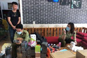 Đà Nẵng: Quản lý thị trường tạm giữ gần 3.500 đơn vị thuốc lá điện tử và linh phụ kiện