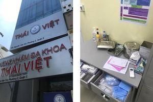 TP.HCM: Bắt quả tang phòng khám có người Trung Quốc hoạt động 'chui'