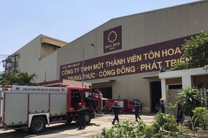 Hoa Sen: Vụ cháy ở nhà máy Bình Dương không ảnh hưởng đến hoạt động sản xuất kinh doanh