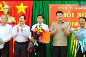 Công bố Quyết định Phó Bí thư Huyện ủy Sơn Tây