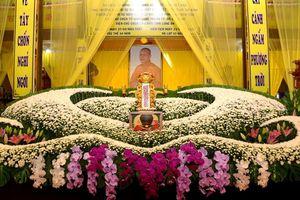 Lễ nhập kim quan Hòa thượng Thích Nhật Ấn tại Tổ đình Long Thạnh