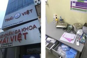 Dừng hoạt động 'Phòng khám Đa khoa Thái Việt ' không phép