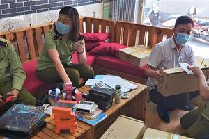 Triệt xóa 3 cơ sở bán thuốc lá điện tử cho học sinh, thu 3.500 sản phẩm