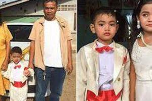 Cặp song sinh 5 tuổi bị bố mẹ ép cưới để giải 'nghiệp chướng'