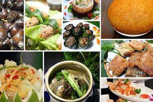 Công bố Top 100 món ăn đặc sản và Top 100 đặc sản quà tặng Việt Nam
