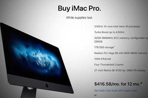 Apple dừng cung cấp iMac Pro, chuẩn bị ra mắt iMac và Mac mới