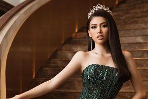 Á hậu Ngọc Thảo lọt top 10 bình chọn video giới thiệu bản thân tại Miss Grand 2021