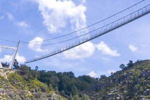 Cầu đi bộ dài nhất thế giới sắp khánh thành tại Bồ Đào Nha