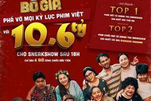 'Bố Già' phá vỡ mọi kỷ lục phim Việt cán mốc 10,6 tỷ đồng sau 6 giờ công chiếu