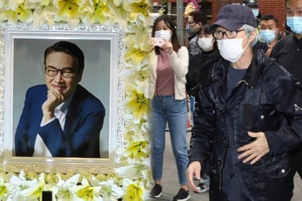 Châu Tinh Trì bất ngờ xuất hiện trong lễ tang Ngô Mạnh Đạt