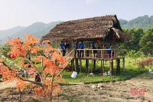 Thanh niên Hương Sơn đầu tư mô hình du lịch trải nghiệm
