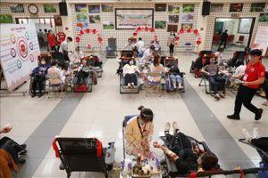 Lễ hội Xuân hồng lần thứ XIV tiếp nhận hơn 8.300 đơn vị máu