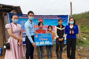 Khởi công xây dựng 'Ngôi nhà Khăn Quàng đỏ' cho học sinh nghèo tại Cẩm Phả