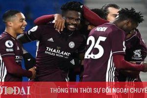 Kết quả, Bảng xếp hạng (BXH) Ngoại hạng Anh ngày 7/3: Leicester chiếm vị trí của MU