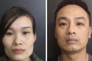 Bắt khẩn cấp hai vợ chồng buôn bán ma túy
