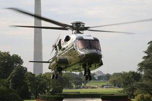 Trực thăng dành cho Tổng thống Biden có thể đốt cháy bãi cỏ Nhà Trắng