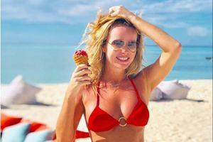 Bí quyết giữ dáng của Amanda Holden ở tuổi 50