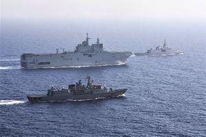 Pháp liên tiếp điều chiến hạm đến Biển Đông