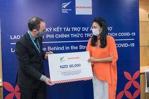 790 triệu đồng hỗ trợ lao động nữ phi chính thức trong dịch Covid-19