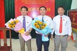 Nguyên Trưởng Công an huyện được bầu giữ chức Chủ tịch UBND H. Sơn Tịnh