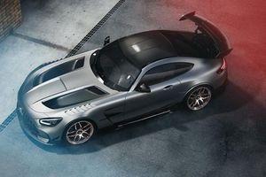 Mercedes-AMG GT Black Series 2021 sở hữu bộ mâm gàn nửa tỷ đồng