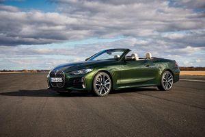 Ngắm chi tiết BMW 4-Series Convertible 2021 đầy quyến rũ