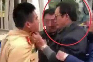 Túm cổ áo CSGT, Chi cục Trưởng Dân số tỉnh Tuyên Quang bị cảnh cáo