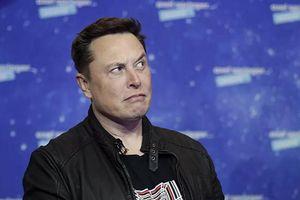 Tài sản của tỷ phú Elon Musk bất ngờ bốc hơi 27 tỷ USD
