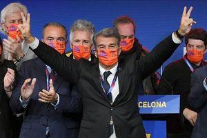 Joan Laporta tái đắc cử chức chủ tịch Barcelona