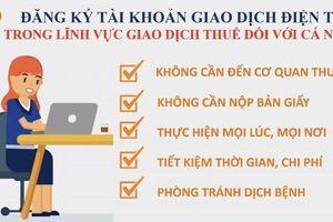 Cục Thuế Hà Nội hướng dẫn cá nhân đăng ký tài khoản thuế điện tử