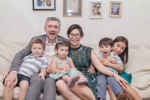 Esther Nguyễn lần đầu tiết lộ về gia đình nhỏ với 4 nhóc tì 'siêu quậy'