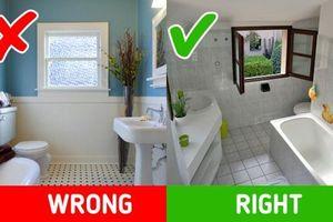 10 mẹo đơn giản giúp phòng tắm của bạn luôn thơm tho, thông thoáng và sạch sẽ