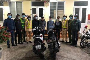 Khen thưởng Công an quận Hồng Bàng ngăn chặn, bắt giữ 20 thanh thiếu niên đua xe
