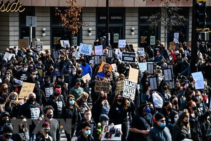 Mỹ: Tuần hành đòi công lý cho người da màu chết do cảnh sát bạo hành