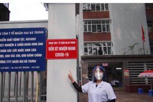 Những ngày 'khói lửa' của nữ bác sĩ chiến đấu với COVID-19