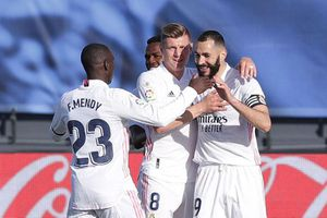 Kết quả Atletico 1-1 Real: Derby Madrid bất phân thắng bại