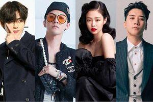Tranh cãi BXH idol Kpop nổi tiếng nhất xứ Trung: G-Dragon - Jennie bị BTS lấn át, Seungri giải nghệ vẫn có tên trong top