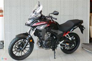 Cận cảnh Honda CB500X 2021 tại Việt Nam, giá 188 triệu đồng