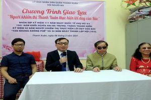Người khiếm thị quận Thanh Xuân tích cực thực hiện lời Bác dạy 'tàn nhưng không phế'
