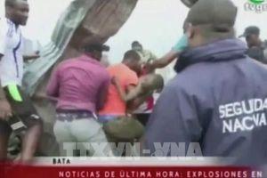 Guinea Xích Đạo: Nổ lớn ở doanh trại quân đội làm hơn 500 người thương vong