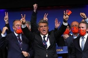 Joan Laporta chính thức trở thành tân chủ tịch Barca