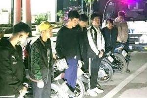 Xử lý nhóm thanh thiếu niên đi xe lạng lách, đánh võng
