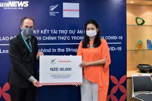 New Zealand hỗ trợ gần 800 triệu VND cho người bán hàng rong Việt Nam