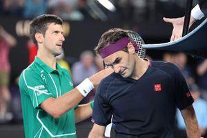 Djokovic chính thức 'vượt mặt' Federer