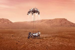 NASA công bố hình ảnh 'hạ cánh xuống sao Hỏa'