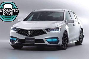Honda Legend trở thành mẫu xe tự lái cấp độ 3 đầu tiên trên thế giới