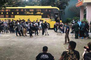 Nghệ An: Đưa 57 người nhập cảnh trái phép đi cách ly tập trung