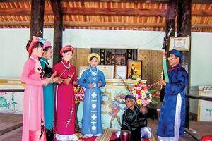 Ngôi làng ngàn năm giao thoa Chăm-Việt