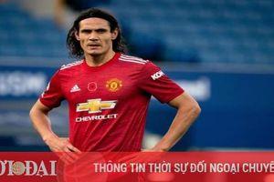 Cavani quyết định chia tay MU để gia nhập đội bóng 'vô danh'