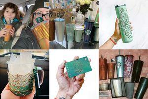 Các 'nhà sưu tập' ly tách lại háo hức săn lùng bộ sản phẩm kỷ niệm 50 năm của Starbucks